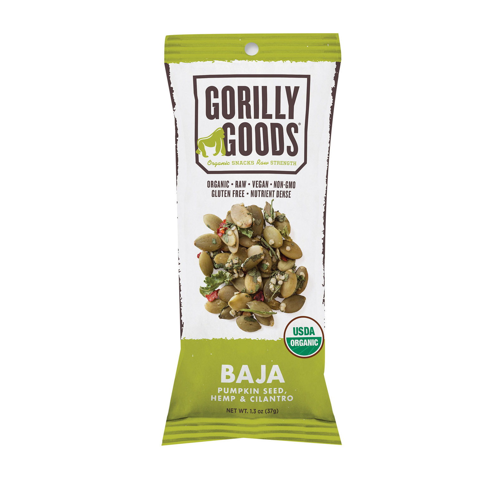 Gorilly Goods Baja - Organic - Stickpack - Case of 12 - 1.30 oz