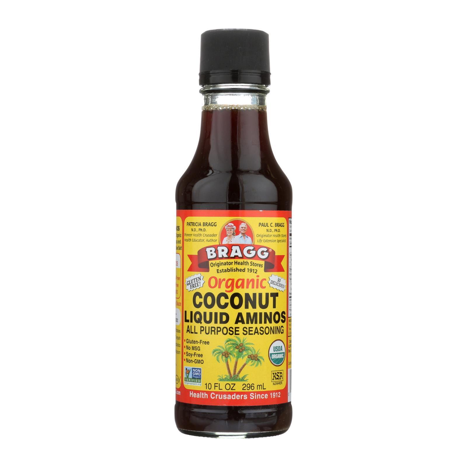 Bragg Liquid Aminos - Organic - Coconut - Case of 12 - 10 fl oz