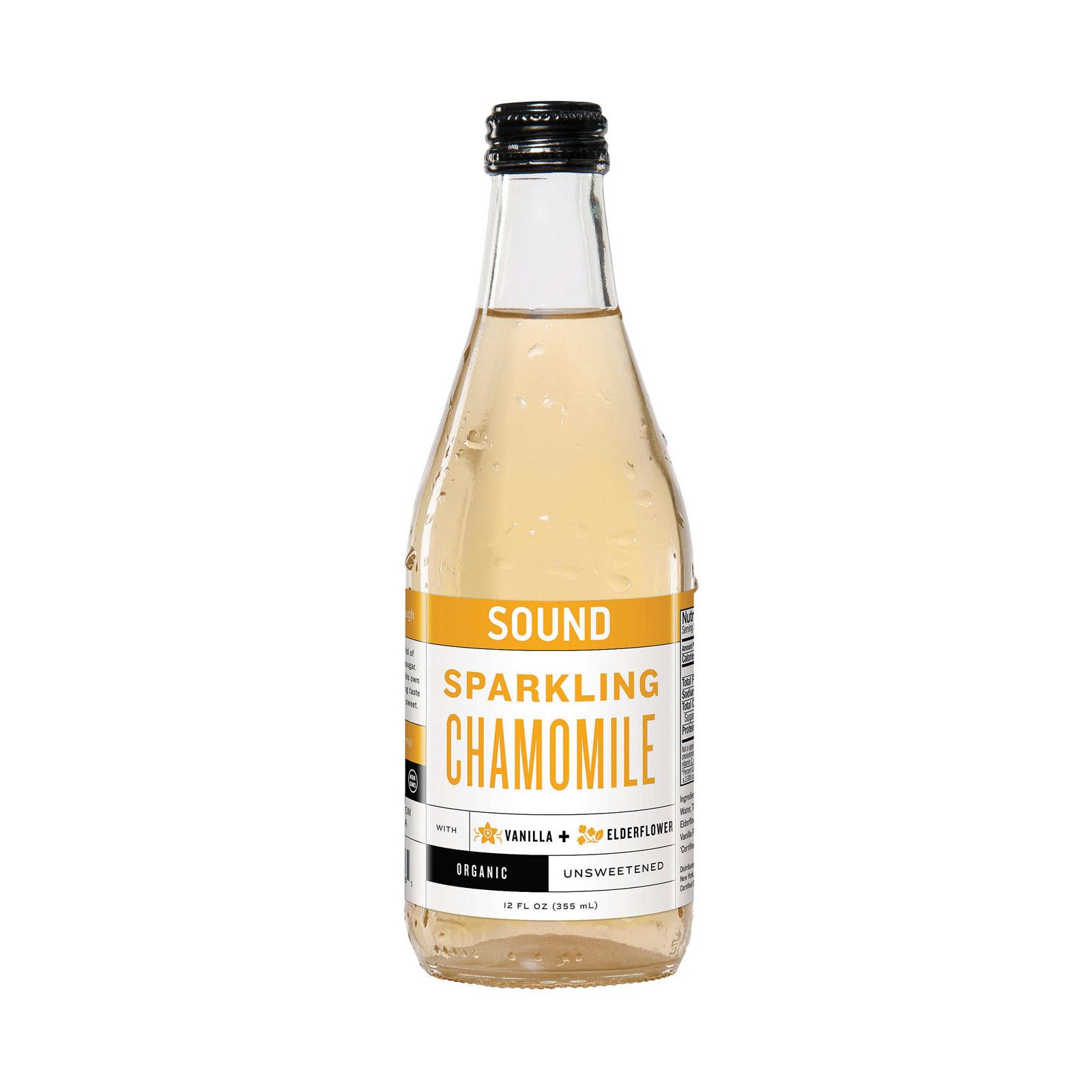Sound Sparkling Tea Tea - Organic - Sparkling - Chamomile - Case of 12 - 12 fl oz