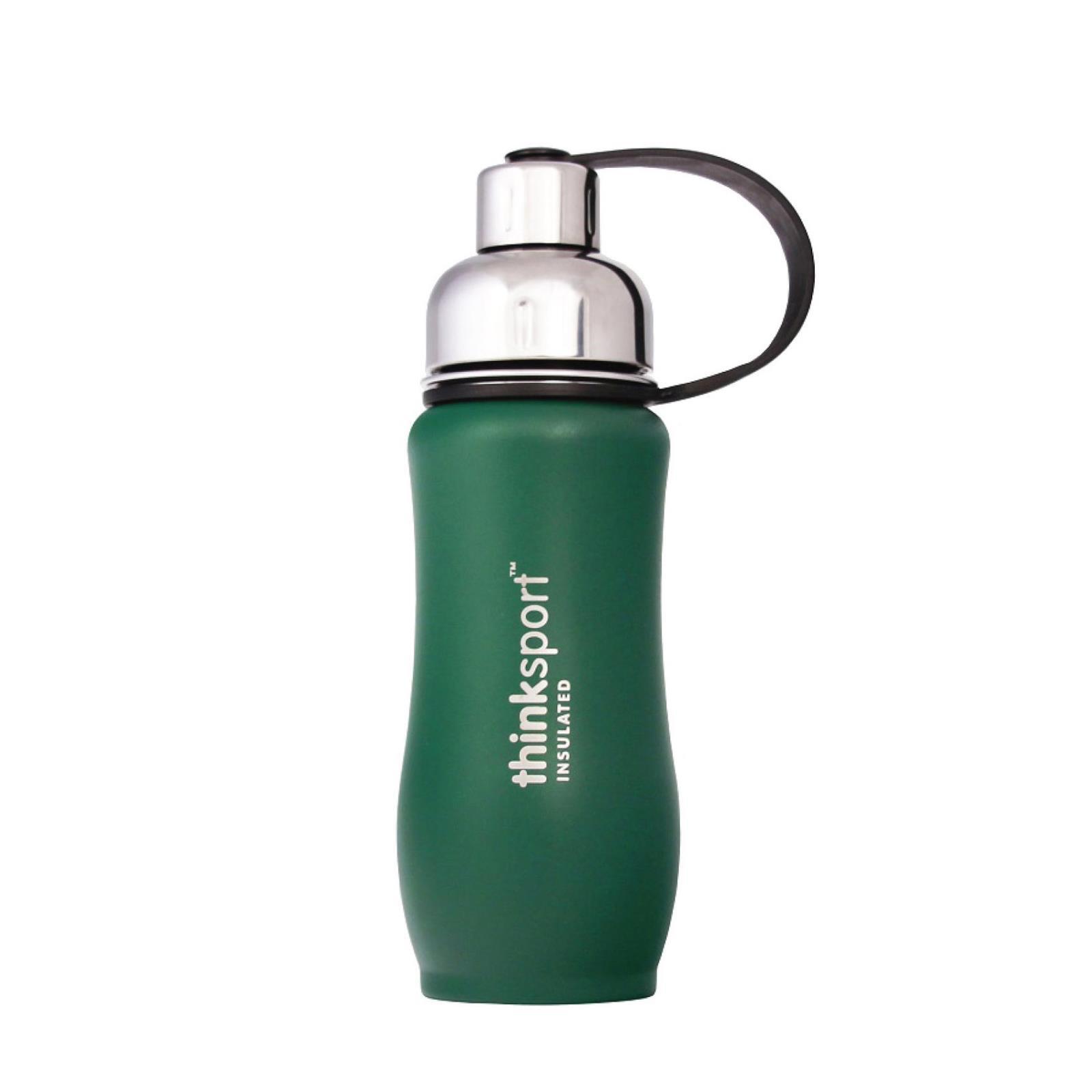 Thinksport  12oz(350ml) insulated Sports Bottle - Green
