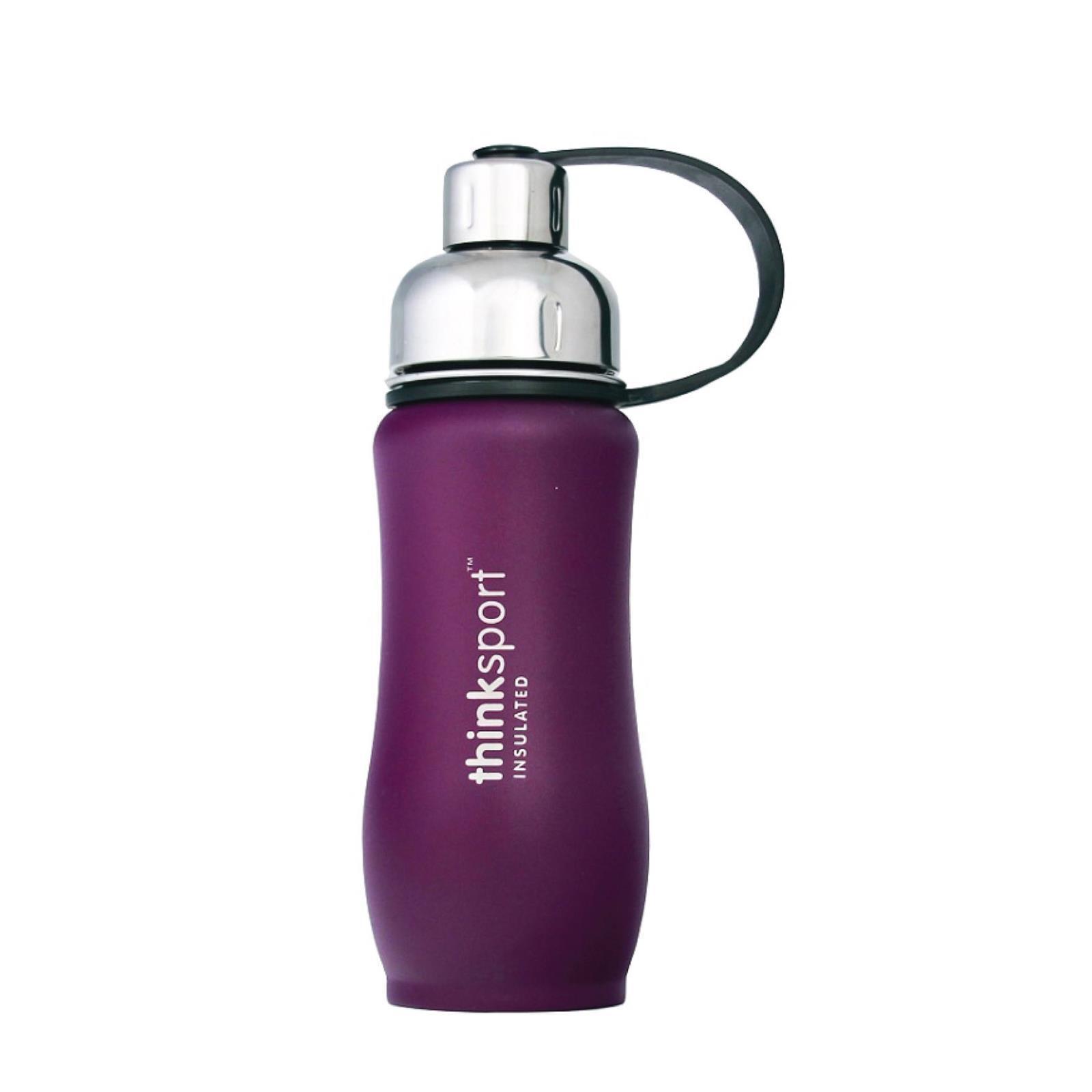 Thinksport  12oz(350ml) insulated Sports Bottle - Purple