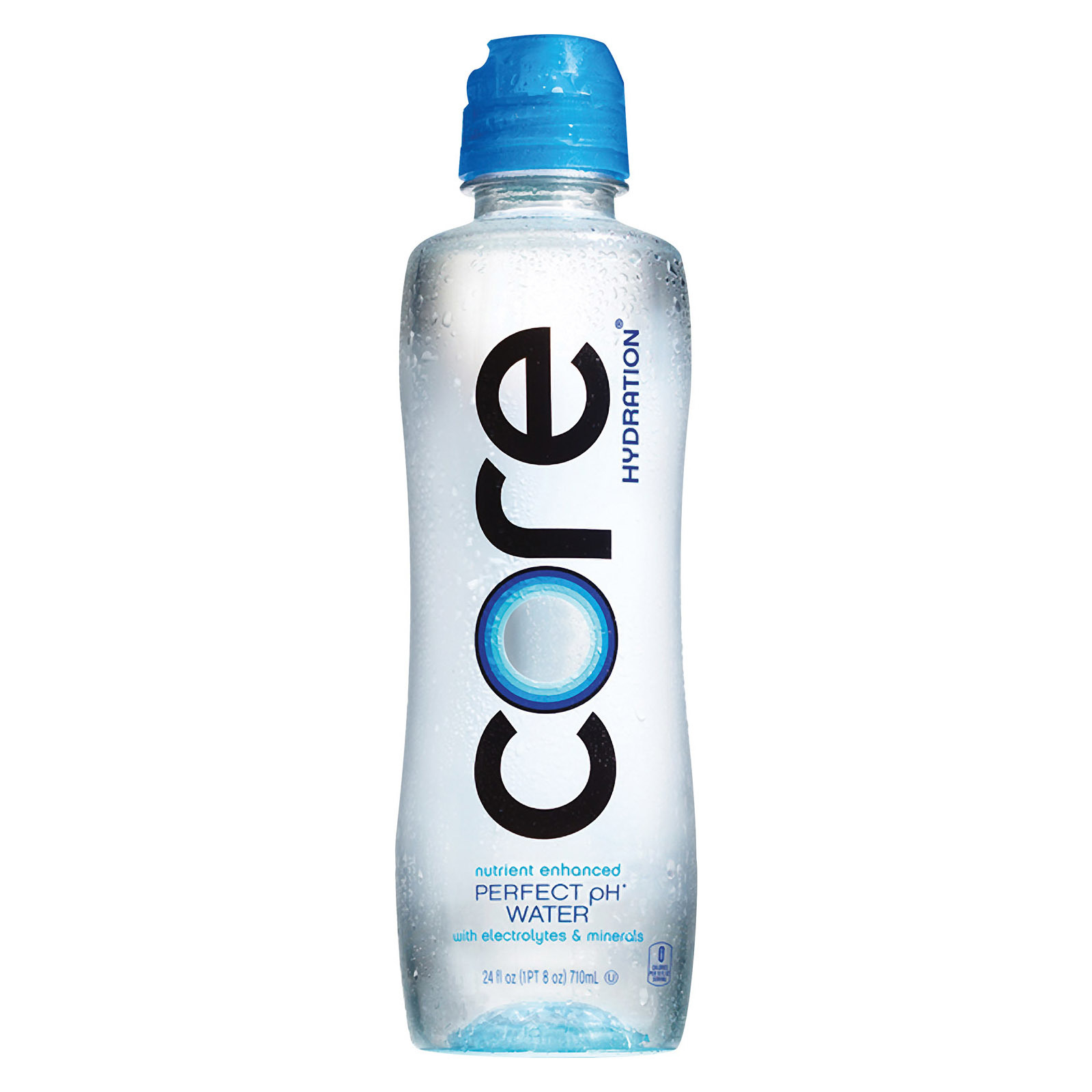Core Natural Water - Perfect Ph Sport Cap - Case of 24 - 23.9 fl oz