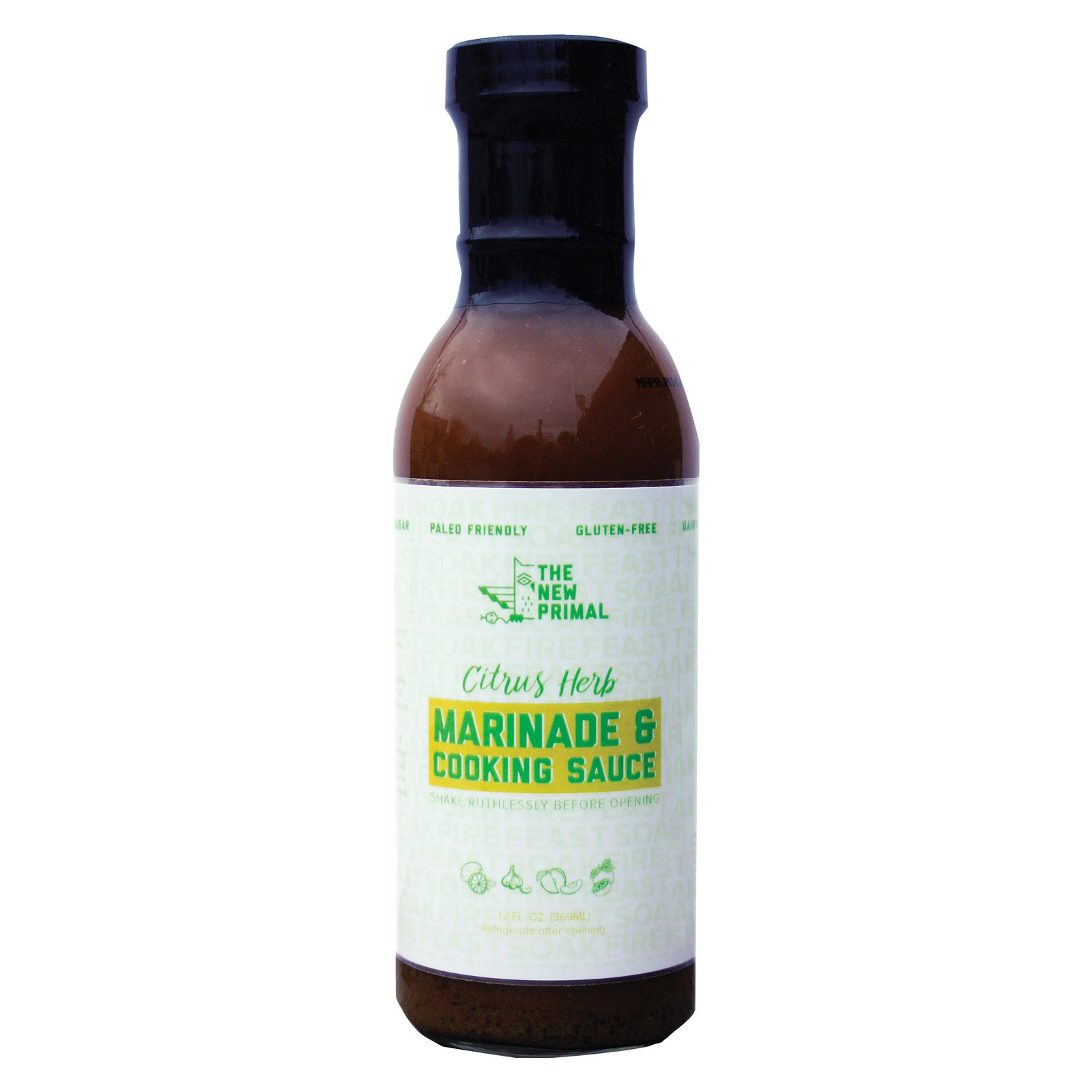 The New Primal Marinade - Citrus Herb - Case of 6 - 12 fl oz
