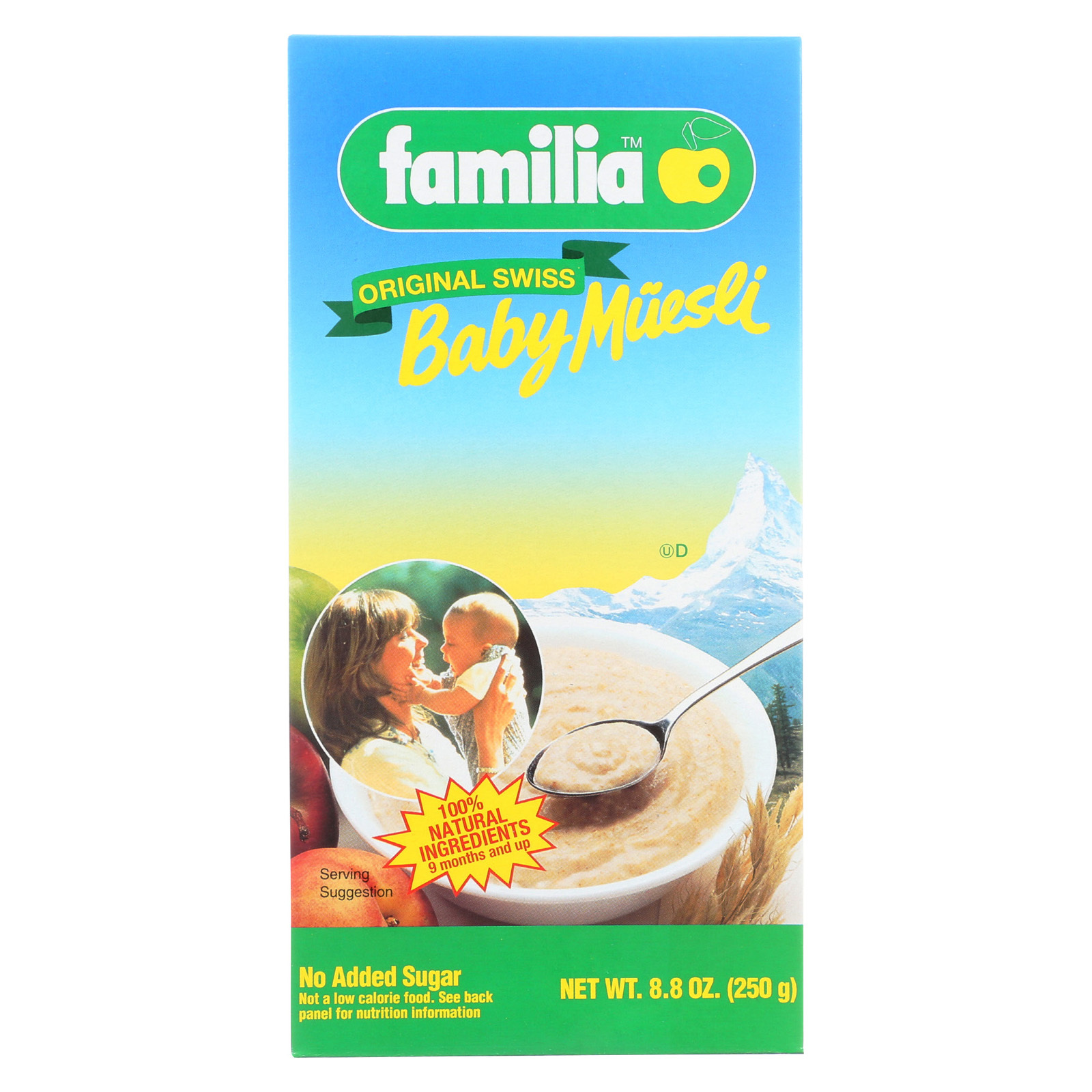 Familia Baby Muesli - Original Swiss - Case of 6 - 8.8 oz