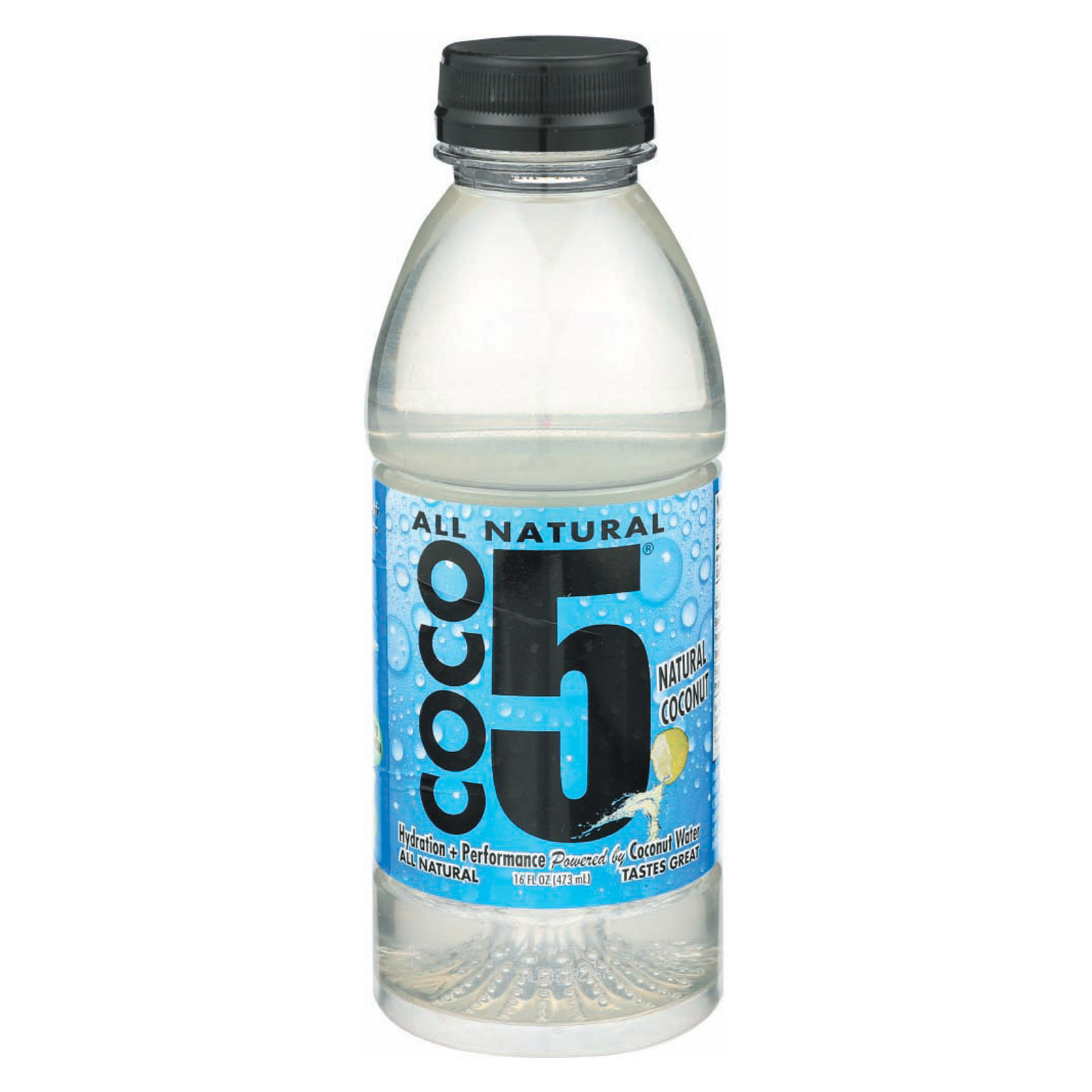 Coco5 Coconut Water - Coconut - Case of 12 - 16.9 fl oz