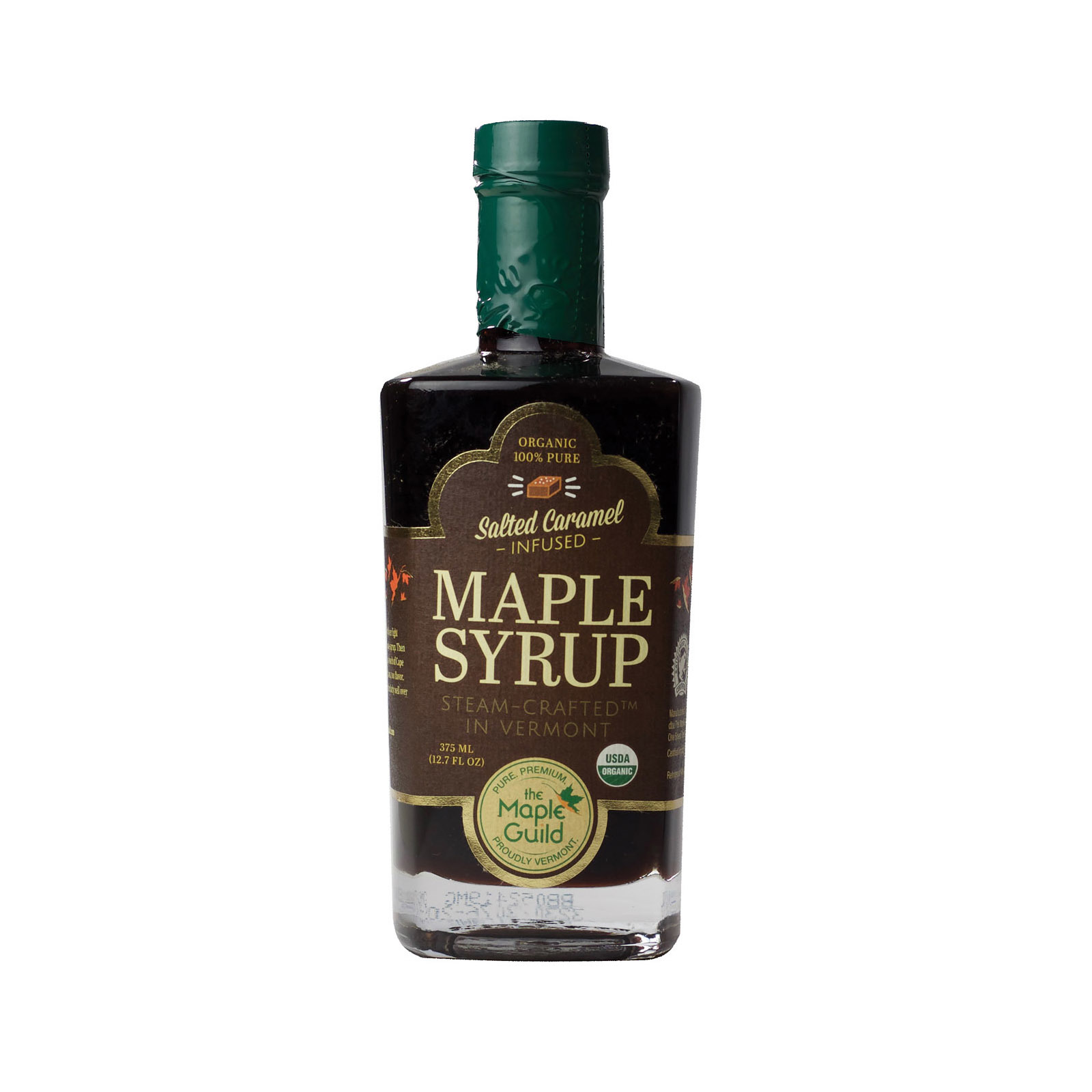 The Maple Guild Organic Syrup - Salted Caramel - Case of 6 - 375 ML