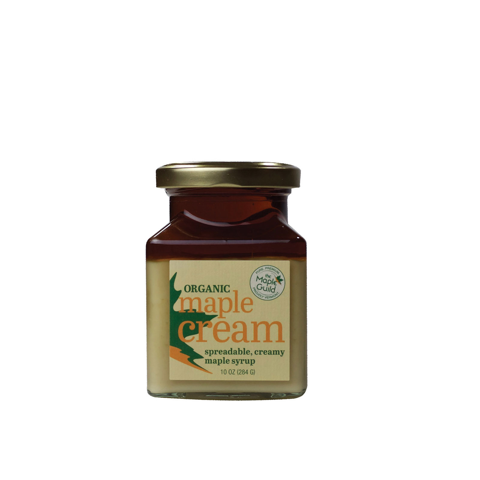 The Maple Guild Organic Spread - Maple Cream - Case of 6 - 10 oz
