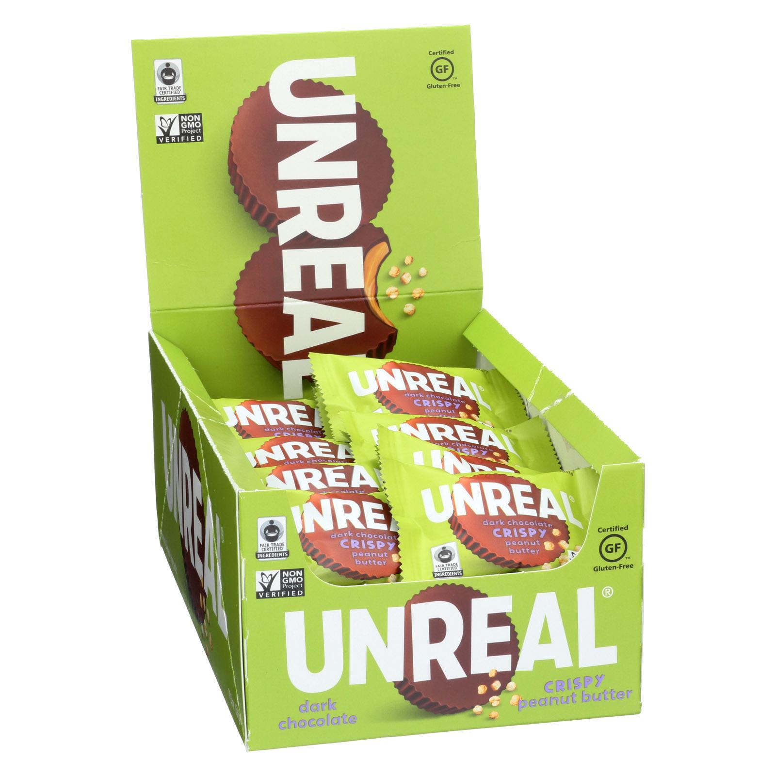 Unreal Dark Chocolate Crispy Quinoa Cups - 40 Cups