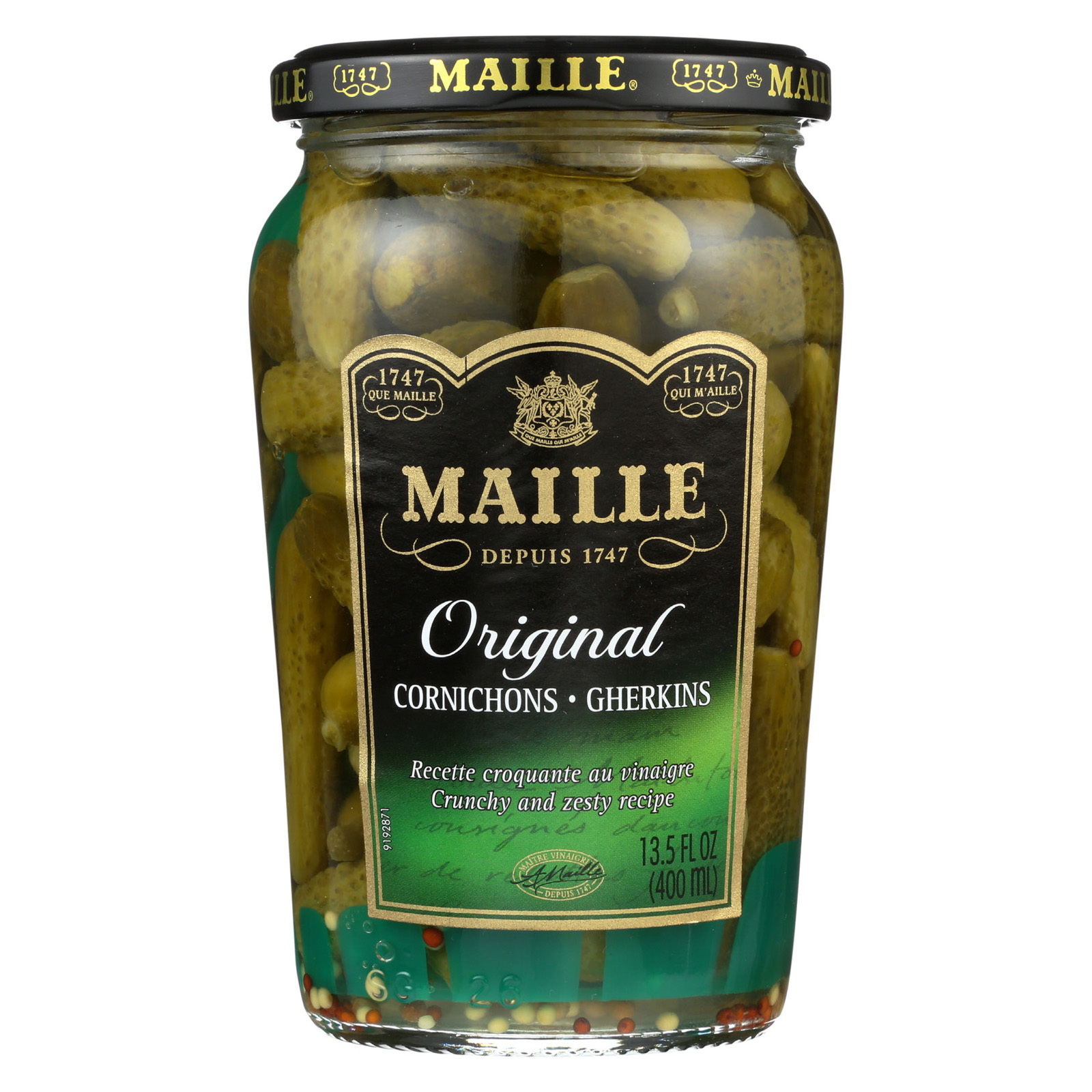 Maille Cornichons - Case of 12 - 13.5 fl oz