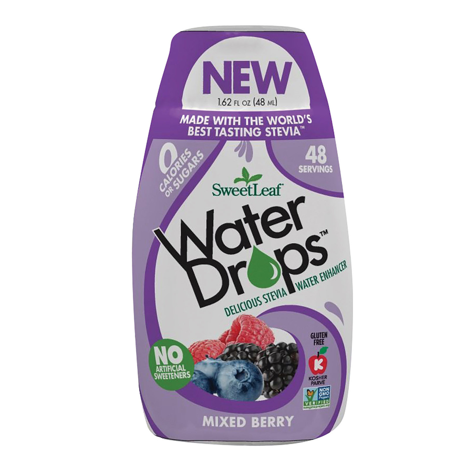 Sweet Leaf Water Drops - Mixed Berry - 1.62 fl oz