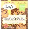 Dr. Lucys Cookies - Chocolate Chip - Snack N Go Packs - 6.3 oz - case of 8