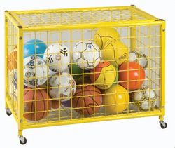 Category: Dropship Storage, SKU #BC163P, Title: Yellow Grid Locker - 42