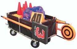 Category: Dropship Storage, SKU #FB160M, Title: Heavy-Duty Equipment Cart