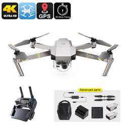 Category: Dropship Gadgets, SKU #CVAIA-G784-Combo-Platinum, Title: DJI Mavic Pro Platinum Drone Combo