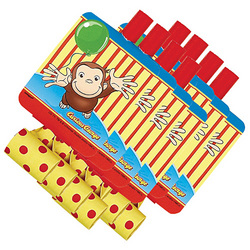 Curious George Curious George Blowouts [8 Per Pack]