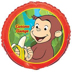 Curious George Curious George Foil Balloon