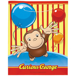Curious George Curious George Loot Bags [8 Per Pack]