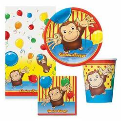 Curious George Curious George Party Pack for 8