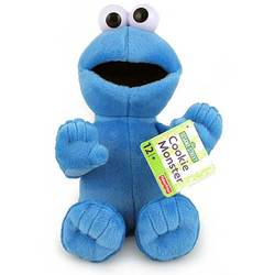 Sesame Street Fisher-Price Cookie Monster Plush Doll [9.5 inches