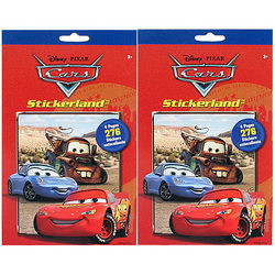 Cars Disney Pixar Cars Stikerland Pad [2-Pack]