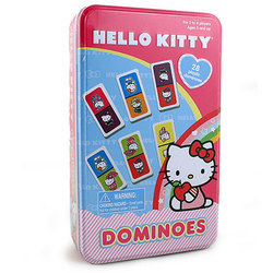 Hello Kitty Hello Kitty Dominoes [Tin Box]