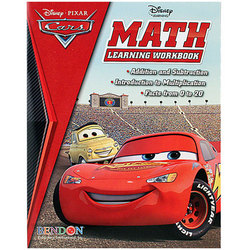 Cars Disney Pixar Cars Math Learning Workbook