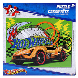 Hot Wheels Hot Wheels 24 pc. Puzzle [Yellow Car]
