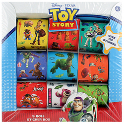 Toy Story Toy Story Sticker Box [9 Rolls]