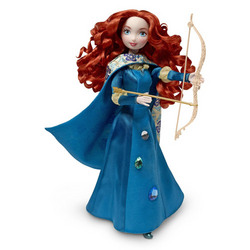 Mattel Disney Pixar Brave Merida - Gem Styling Merida