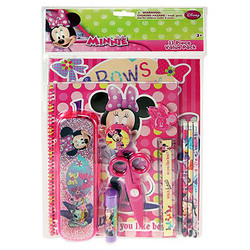 Minnie Mouse Minnie Mouse 11 Piece Stationary Value Pack