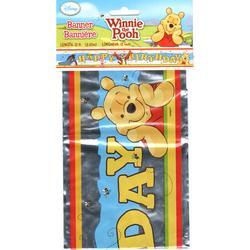 Winnie the Pooh Winnie the Pooh Happy Birthday Banner