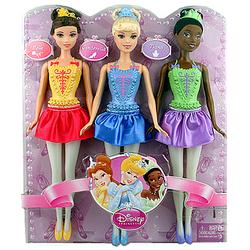 Disney Princess Disney Princess Ballerina Set of 3 [Belle, Cinde