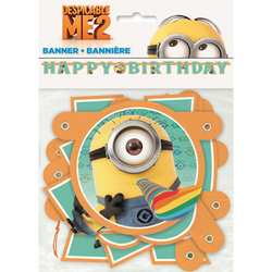 Minions, The Despicable Me 2 Birthday Banner