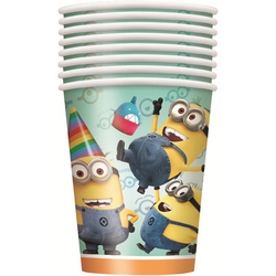 Minions, The Despicable Me 2 Party 9oz Cups [8 Per Pack]