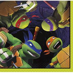 Teenage Mutant Ninja Turtles TMNT Beverage Napkins [16 Per Pack]