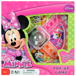 Minnie Mouse Disney Minnie Mouse Pop-Up Game