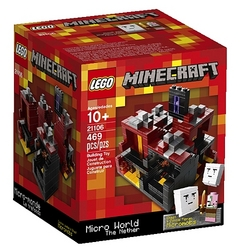 Lego Lego Minecraft - The Nether [21106 - 469 pcs]