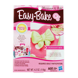 Hasbro Easy-Bake Refill Pack [Fondant Mix]