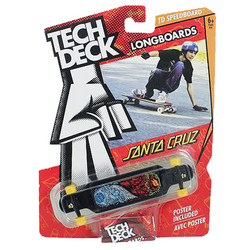 Tech Deck Tech Deck Longboards Santa Cruz [Black]