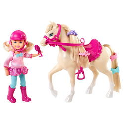 Barbie Barbie and Her Sisters in a Pony Tale Chelsea and Pony Do