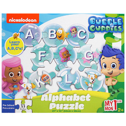 Bubble Guppies Bubble Guppies My First Alphabet Puzzle [33 Piece