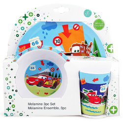 Cars Disney Pixar Cars Melamine Set