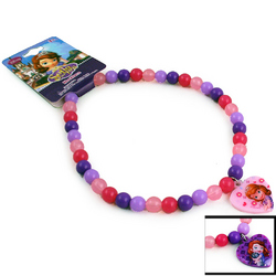 Sofia the First Sofia the First Beaded Rainbow Necklace (Assorte