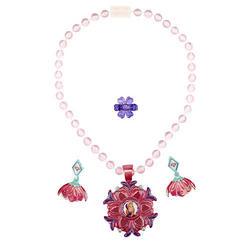 Disney Frozen Disney Frozen Anna Sparkling Flower Jewelry Set