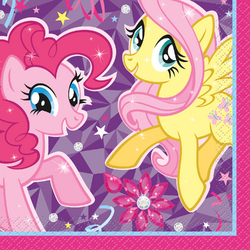 My Little Pony My Little Pony Beverage Napkins [16 Per Pack]