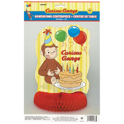 Curious George Curious George Honeycomb Centerpiece