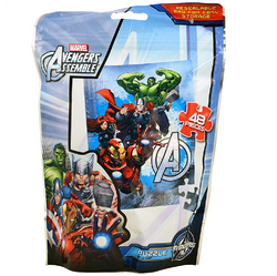 Avengers, The Marvel Avengers Assemble [48 Pieces - Resealable B