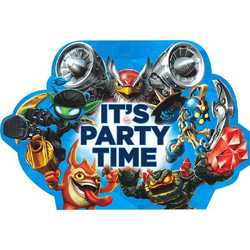 Skylanders Skylanders Party Invitations [8 Per Pack]