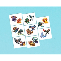 Skylanders Skylanders Party Favor Tattoos
