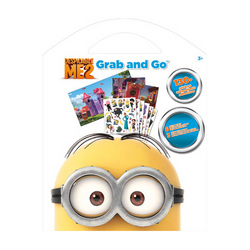 Minions, The Despicable Me - The Minions - Grab and Go Sticker K
